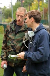 Moe und BeNeR1 at work