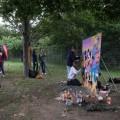 """Show Malen auf dem Festival """"Feuer & Wasser"""" 2012"""