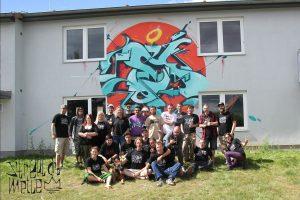 Das Teamfoto der Street Art Meile