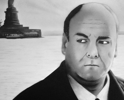 tony soprano artwork