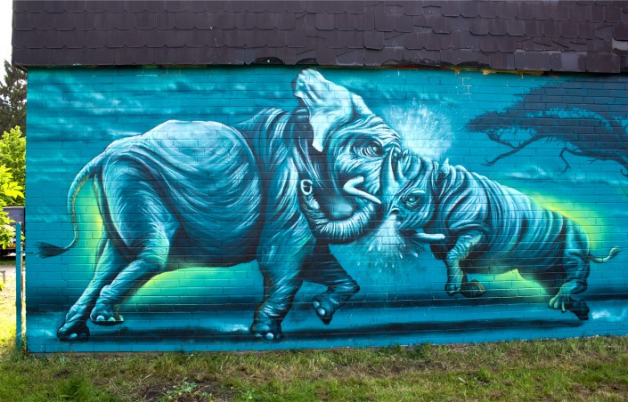 Nashorn Graffiti