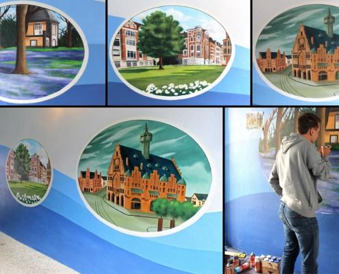 Hannover Motive Wandmalerei