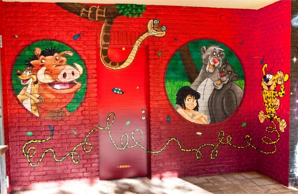 dschungelbuch graffiti