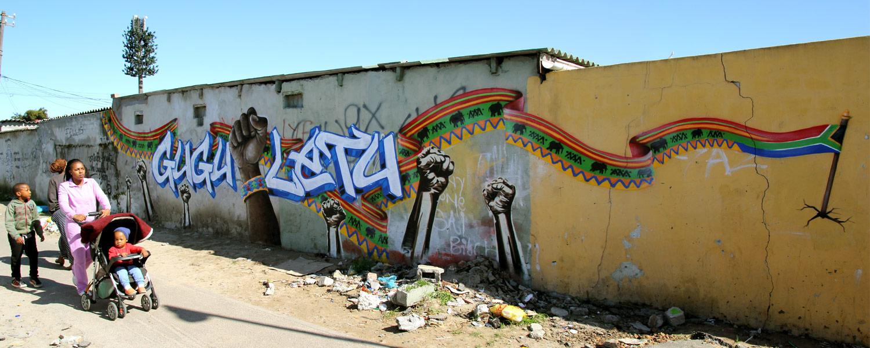 Guguletu Seven Mural