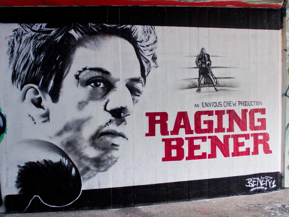 raging bull graffiti bener1