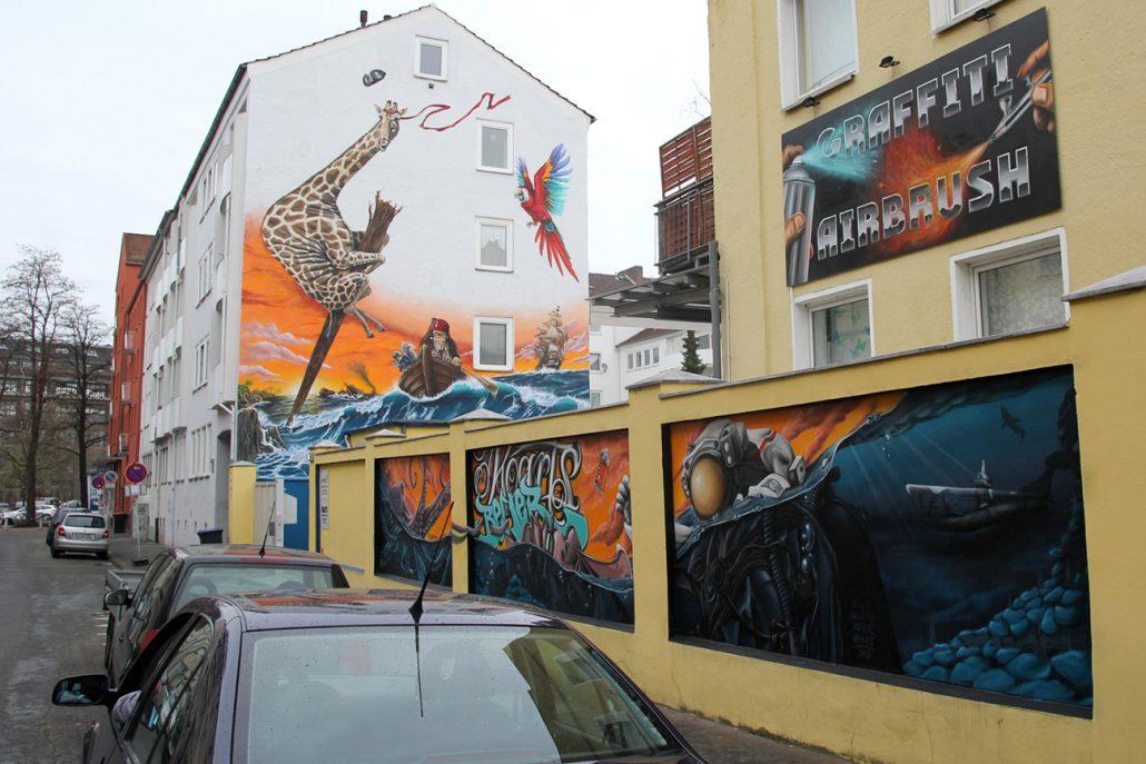 graffiti galerie hannover. Black Bedroom Furniture Sets. Home Design Ideas