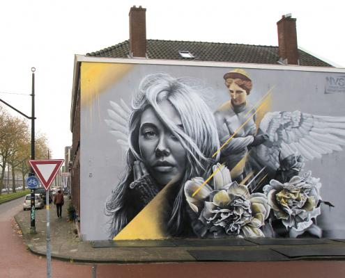 Mural in Rotterdam
