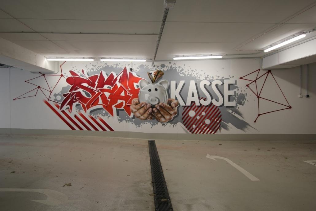 Sparkasse Graffiti