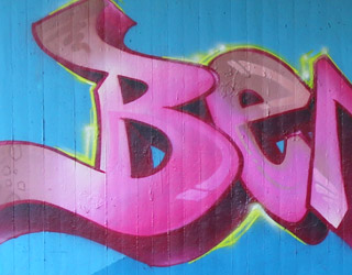 Graffiti Buchstaben