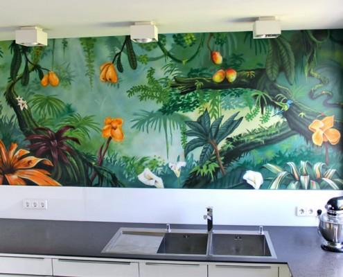 Jugendstil Dschungel