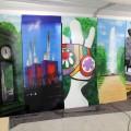 Ergebnisse eines Graffiti Workshops
