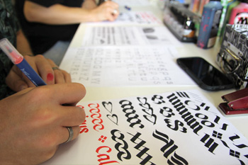 Kalligrafie Workshop